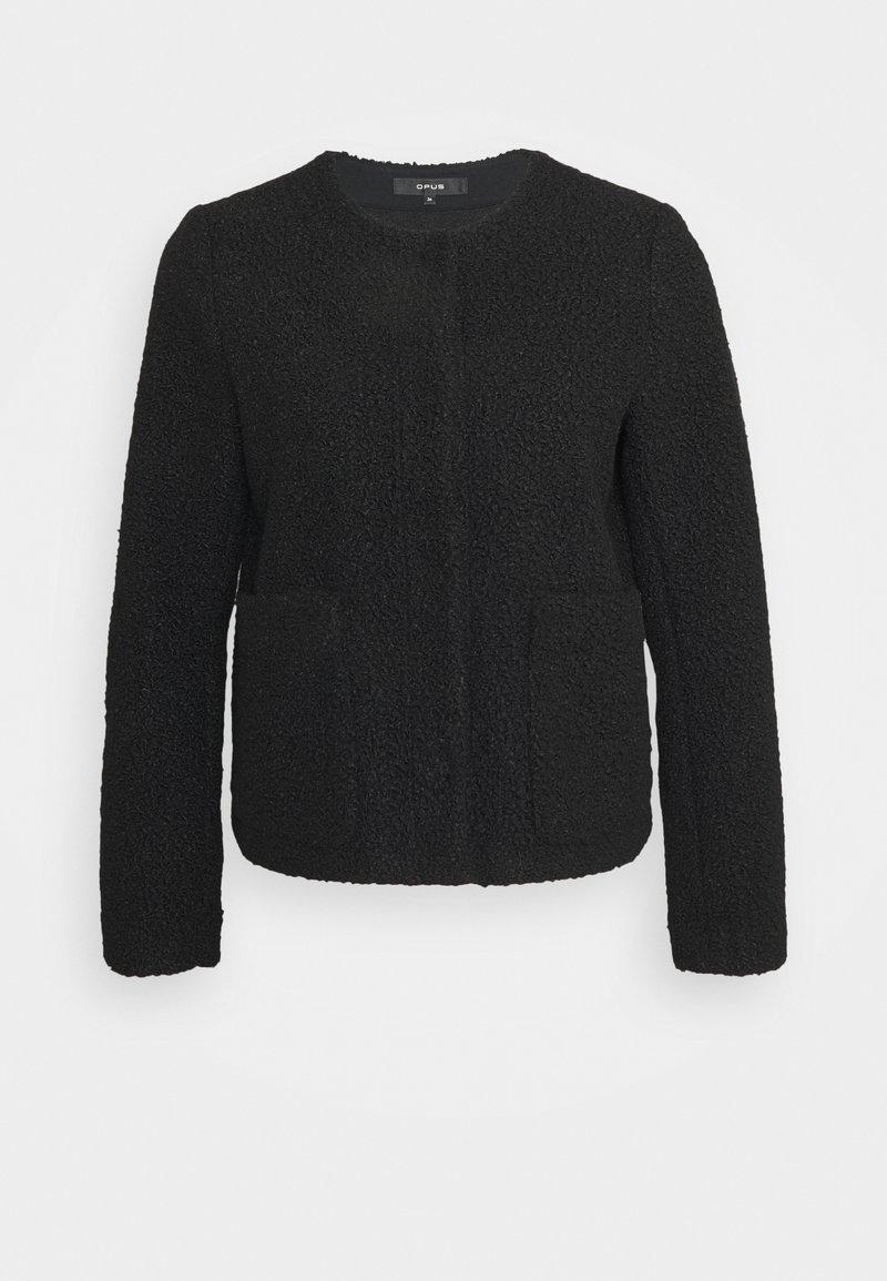 Opus - HELONA - Summer jacket - black