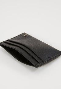 Calvin Klein Jeans - MONOGRAM TEXTURE CARDCASE - Wallet - black - 5
