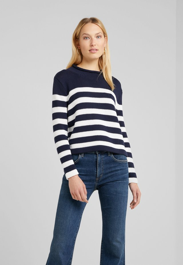 Jumper - navy/ivory