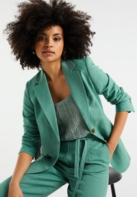 WE Fashion - Blazer - mint green - 4