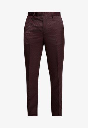 BURG  - Oblekové kalhoty - purple