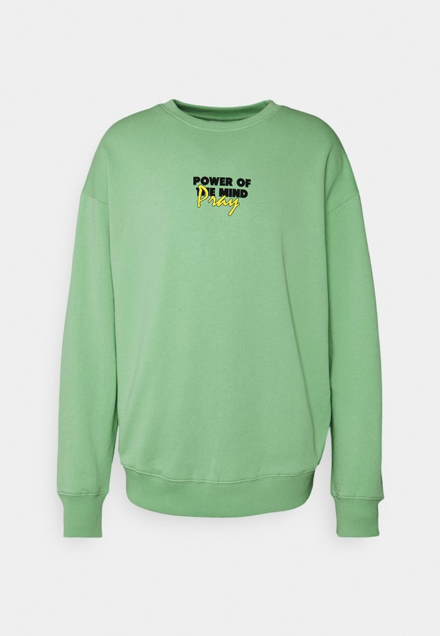 MINDS POWER UNISEX  - Sweater - vintage green