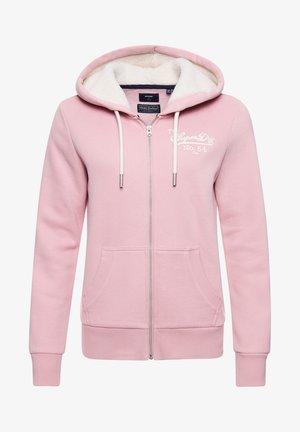 PRIDE IN  - Zip-up sweatshirt - soft pink