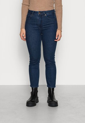 CIGARETTE RYDALE - Straight leg jeans - dark indigo
