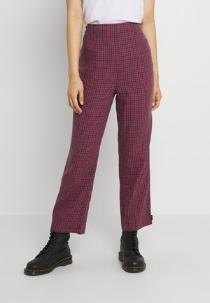 RYDER - Trousers - red