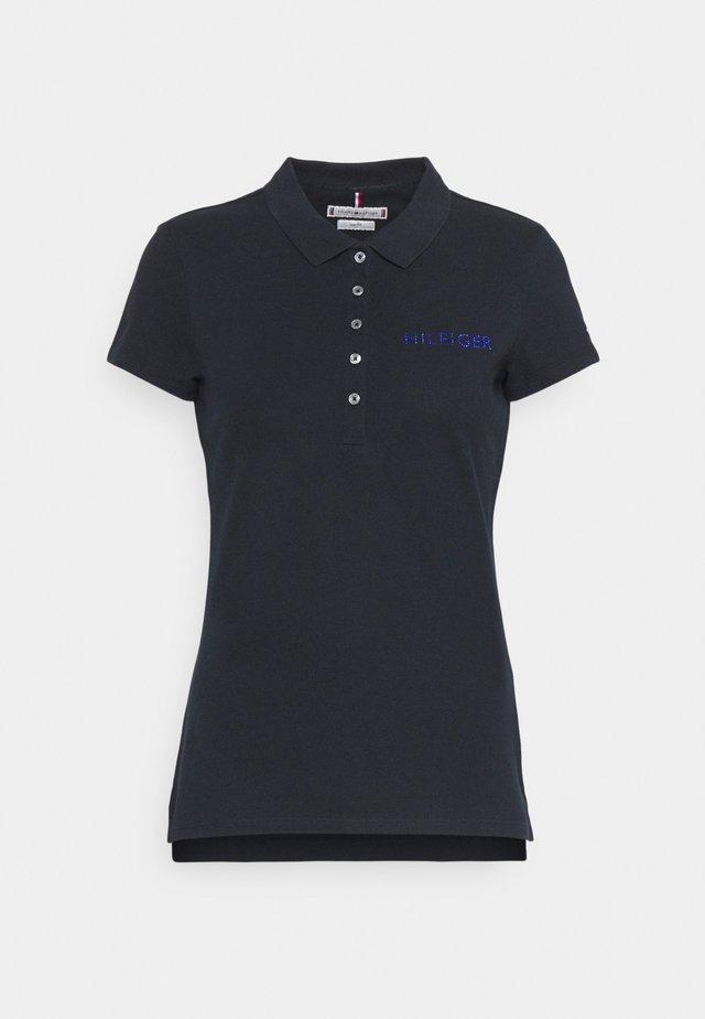 SLIM CRYSTAL - Polo shirt - desert sky
