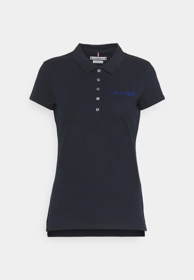 Tommy Hilfiger - SLIM CRYSTAL - Polo shirt - desert sky
