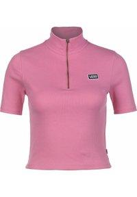 Vans - STUDIO  - Print T-shirt - fuchsia pink - 0