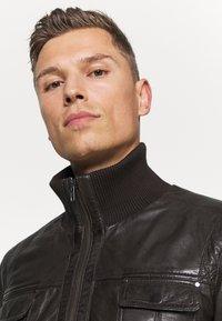 Serge Pariente - DANY - Leather jacket - brown - 3