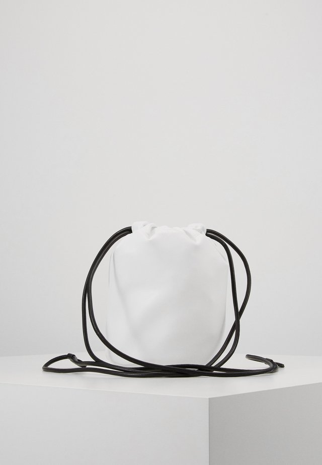 Borsa a tracolla - white