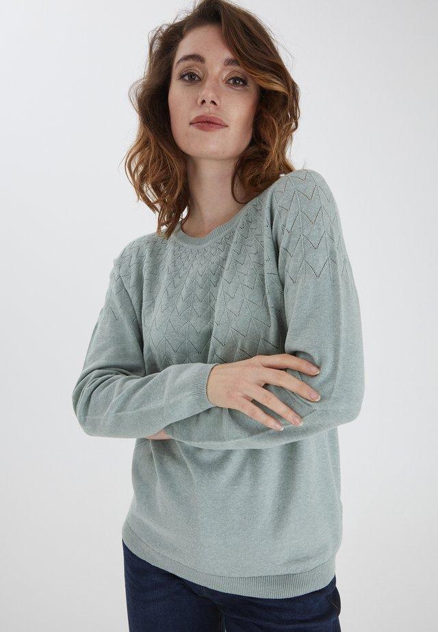 FRPEGANIC  - Sweter - pad melange