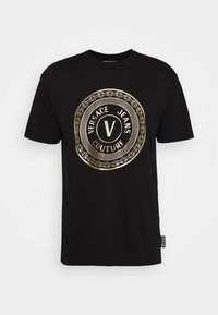 Versace Jeans Couture - MOUSE - T-shirt con stampa - black - 4