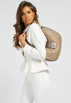 MAXI HOBO - Handbag - braun
