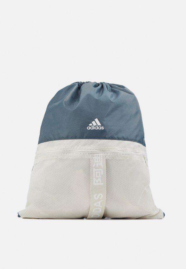 3 STRIPES TRAINING SPORTS GYM SACK UNISEX - Drawstring sports bag - legblu/white