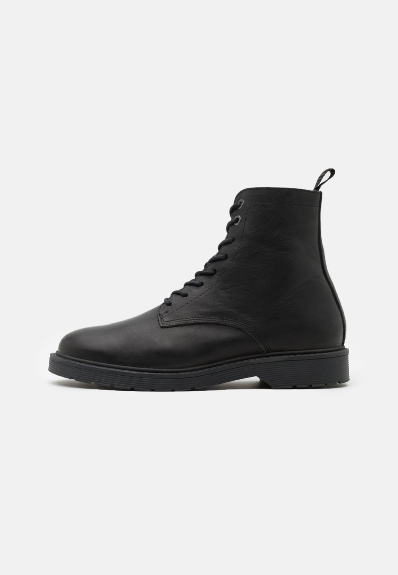 Selected Homme - SLHTIM BOOT - Lace-up ankle boots - black