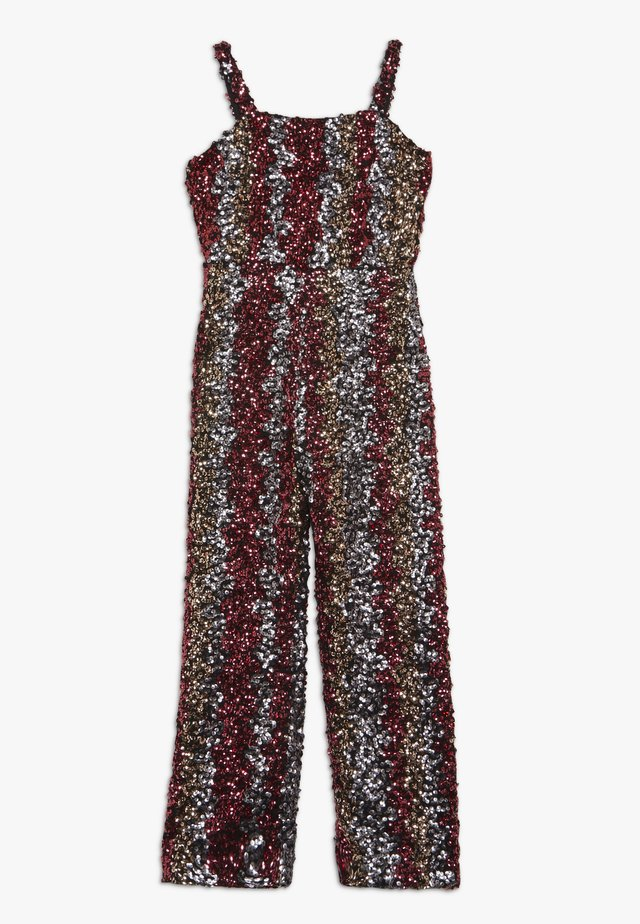 LARA SEQUIN  - Jumpsuit - silver pink