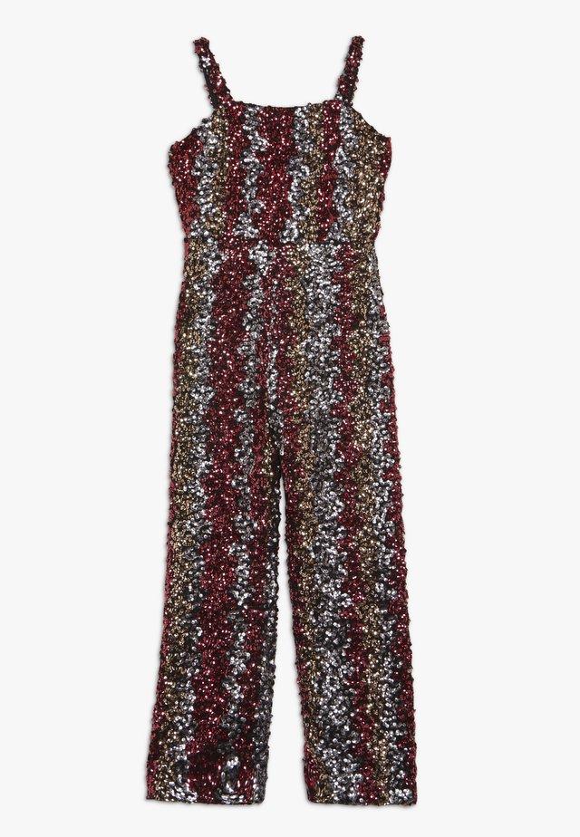 LARA SEQUIN  - Tuta jumpsuit - silver pink