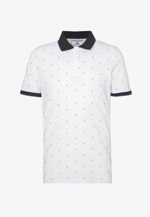 JCOCARLO POLO - Polo shirt - white melange