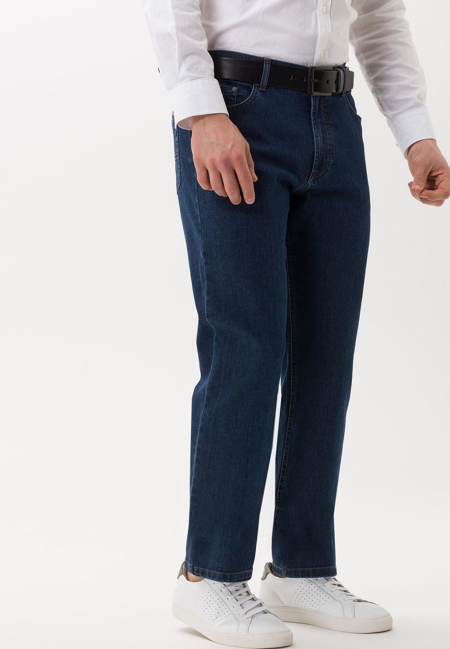 BRAX CARLOS - Straight leg jeans - blue blue
