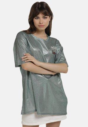 T-shirt print - minze glitzer