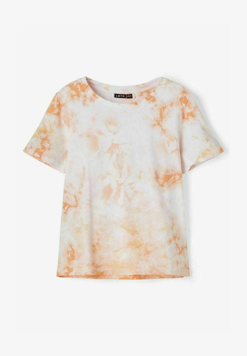 LMTD - Print T-shirt - bright white