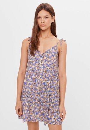 GEBLÜMTES BABYDOLL - Jersey dress - mauve