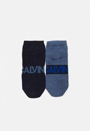MEN LINER INTENSE POWER DIRK 2 PACK - Ponožky - denim