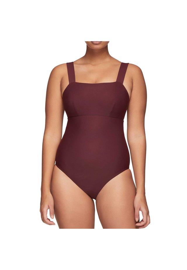 AERIN II D - Swimsuit - burgundy