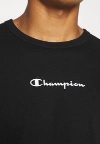 Champion - LONG SLEEVE CREWNECK - Top sdlouhým rukávem - black - 6