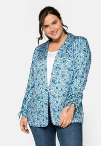 Sheego - Blazer - blue - 0