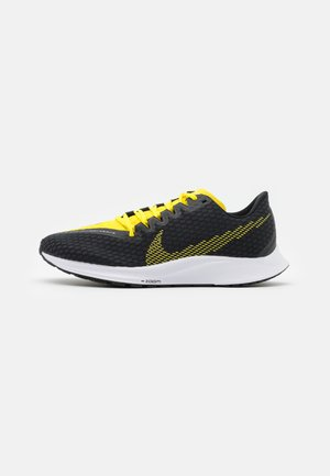 ZOOM RIVAL FLY 2 - Neutrala löparskor - black/opti yellow/white