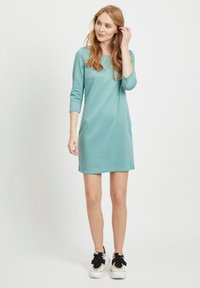 Vila - VITINNY - Day dress - mottled light blue - 1