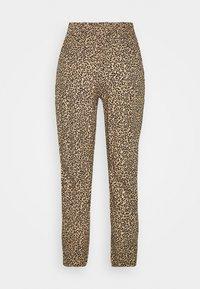 New Look Petite - ANIMAL PRINTED JOGGER - Trousers - brown - 1