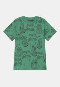Mini Rodini - TIGERS UNISEX - T-Shirt print - green - 0