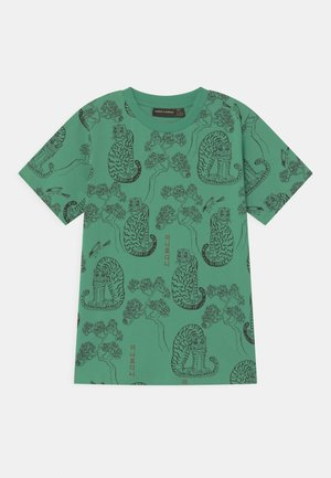 TIGERS UNISEX - T-shirt print - green