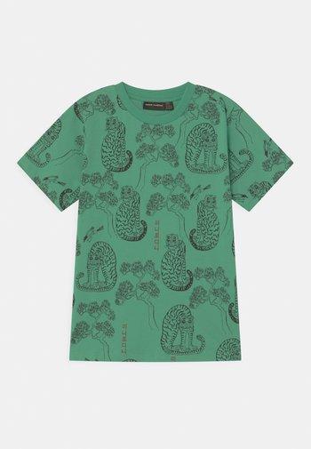 TIGERS UNISEX - Print T-shirt - green