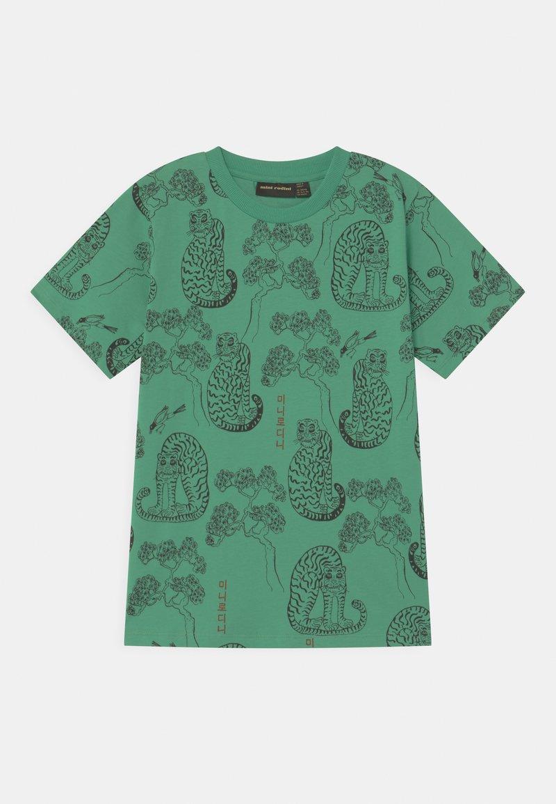 Mini Rodini - TIGERS UNISEX - T-Shirt print - green