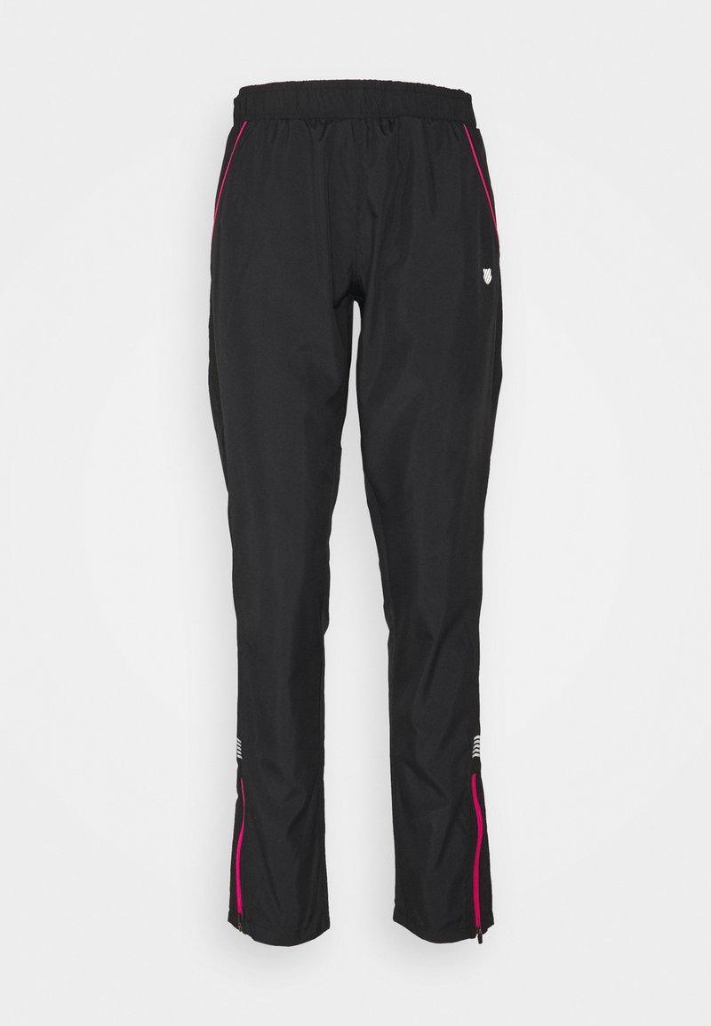 K-SWISS - HYPERCOURT WARM UP PANT - Kalhoty - black beauty