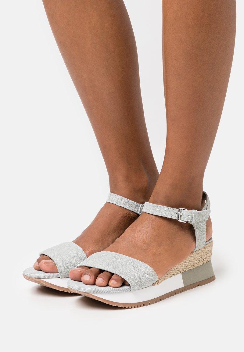 Gioseppo - SARCHI - Platform sandals - azul