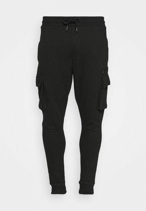 CARGO ZIP JOGGER - Træningsbukser - black