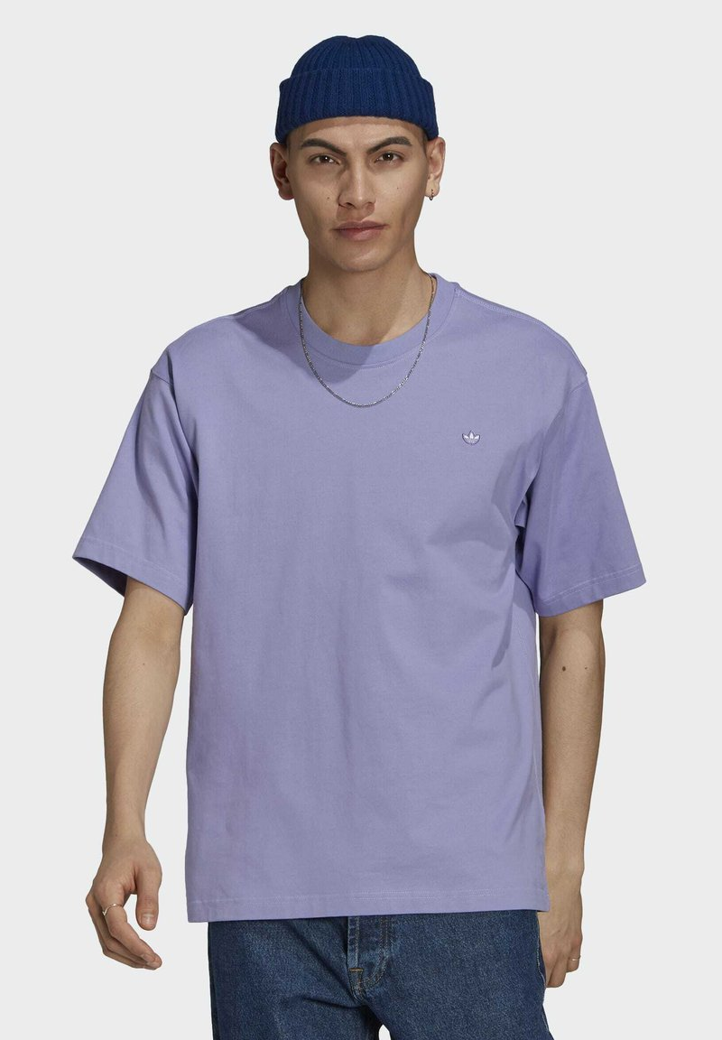 adidas Originals - PREMIUM TEE UNISEX - T-shirts basic - light purple