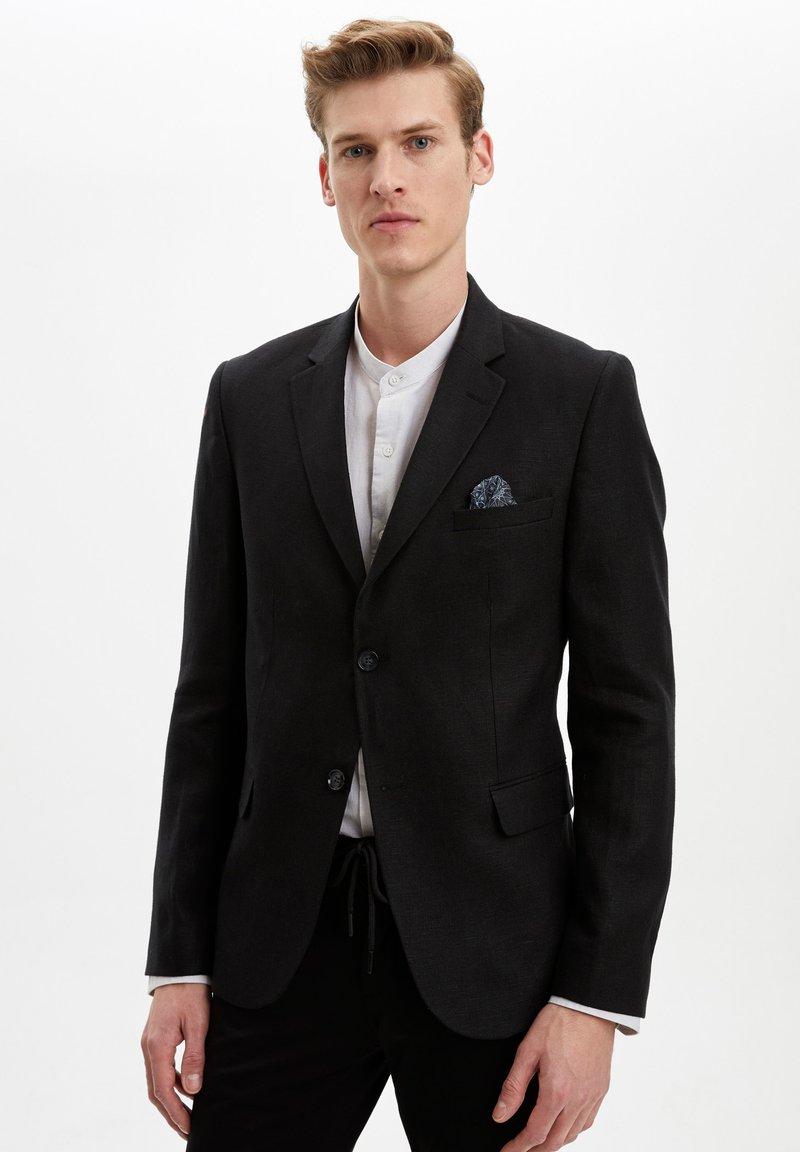 DeFacto - Blazer jacket - black