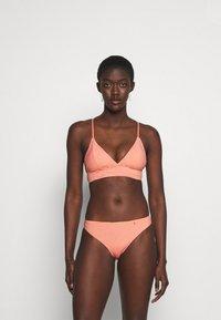 ONLY - ONLKITTY SET - Bikini - red clay/cloud dancer - 0