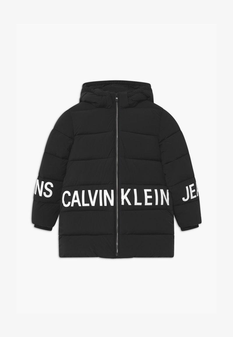 Calvin Klein Jeans - STRETCH LOGO PUFFER - Winter coat - black
