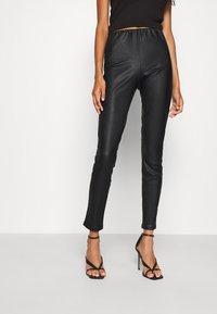 ONLY - ONLRACHEL - Leggings - Trousers - black - 0