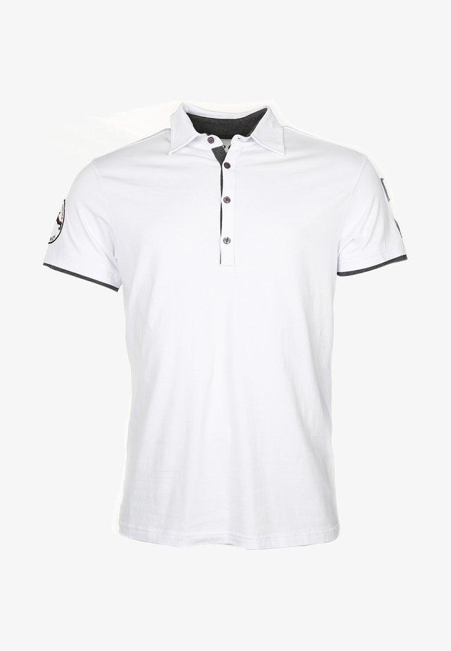 STYLISCH HEAVEN - Poloshirt - white