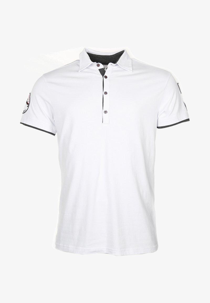TOP GUN STYLISCH HEAVEN - Poloshirt - white/weiß BCDOa5
