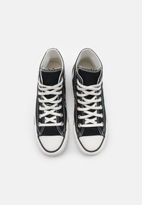 Converse - CHUCK TAYLOR ALL STAR UNISEX - High-top trainers - black/vintage white/egret - 3