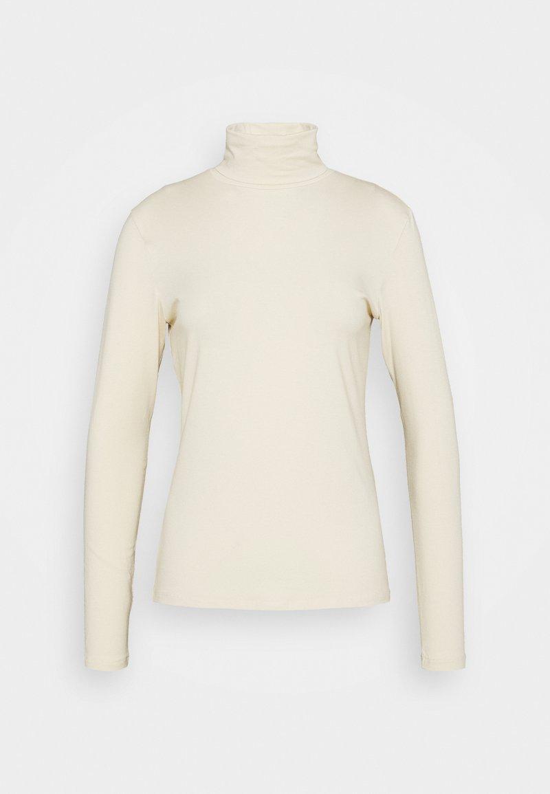 Samsøe Samsøe - ESTER  - Top sdlouhým rukávem - warm white