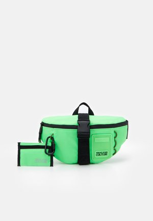 UNISEX SET - Saszetka nerka - verde fluo